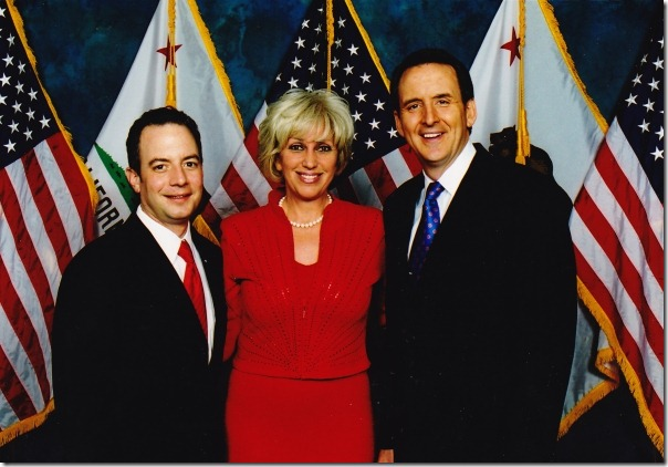 Photo (left to right) of Reince Prebius, Orly Taitz and Tim Pawlenty