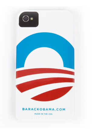 Obama campaign iPhone 4 case