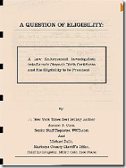Cover: A question of eligibiltiy