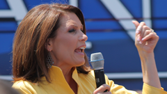 Bachmann on the Presidential campaign trail