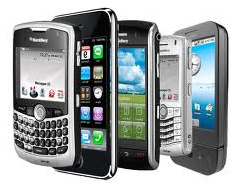 Picture of smart phones