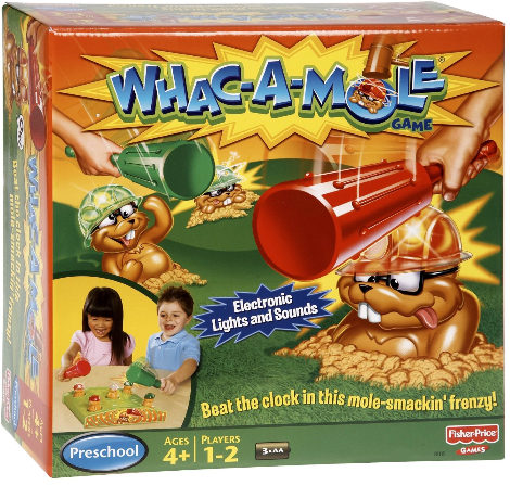 Whac-A-Mole arcade game box - buy at Amazon.com