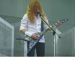 2010 photo of Dave Mustaine