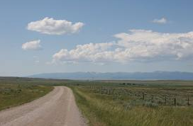 Montana scenery showing empty spaces