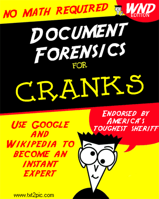 Document Forensics for Dummies