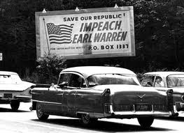 Impeach Earl Warren billboard