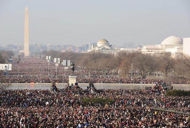 Obama Inauguration Photo