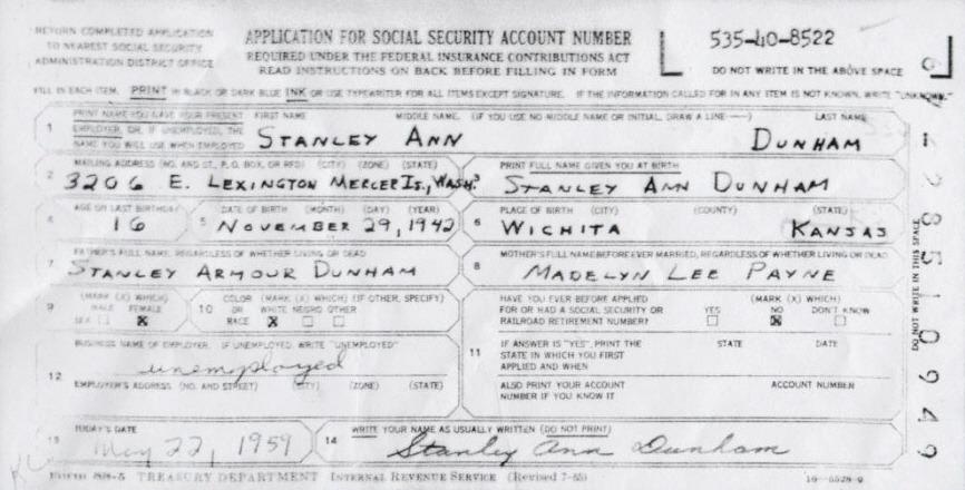 Similiar Social Security Number Form Keywords – Social Security Application Form