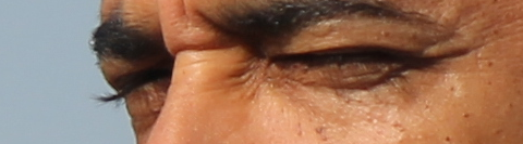 Photo of Obama's eyelashes
