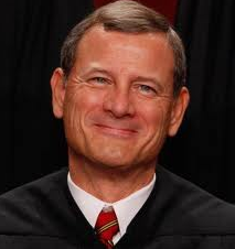 Photo of Chief Justice John Roberts smiling