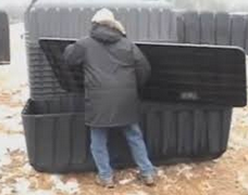 burial vault photo