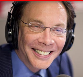 Photo of Alan Colmes in headphones