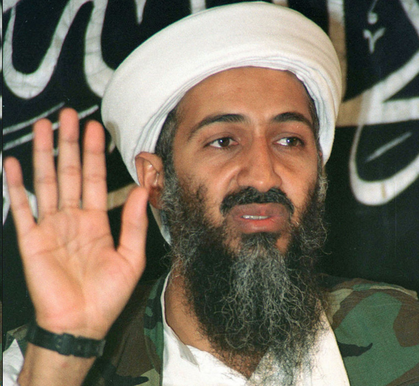 photo of Osama bin Laden used to make fake Obama image