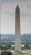 Photo of the pointed Washington Monument