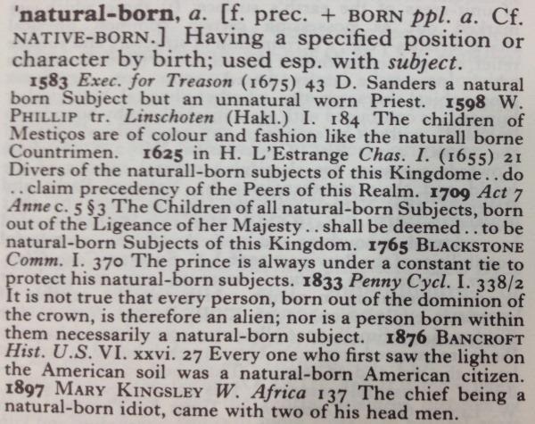 natural-born
