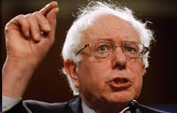 Photograph of Bernie Sanders
