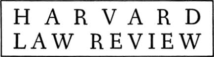 Image result for harvard law review
